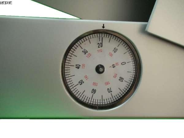 Mess-Uhr mit 1 Grad Einteilung