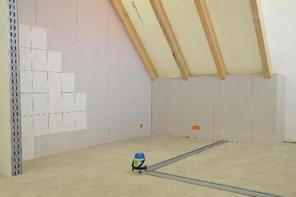 Eine saubere und scharfe Linienwiedergabe erleichtert den Innenausbau.