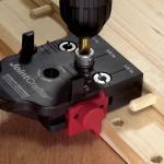 JointMate- Dübel-Lehre für D 6, 8 , 10mm mit Bohrer & Tiefenstopp