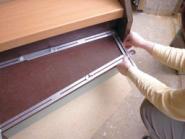 Winkelschablone im Holzkoffer, Schablone T510