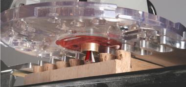 Milescraft Base Plate Metall-Führungshülsen-Set 11 tlg.Inch
