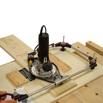 3D Pantograph Pro, Fräser mit 8mm Schaft