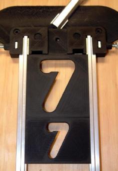 "1  1/2"" , 43mm Vertikal-Nummern-Set"