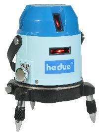 Multi-Linienlaser Hedue M3, 3 horizontale + 4 vertikale Laserlinien und Lotpunkt
