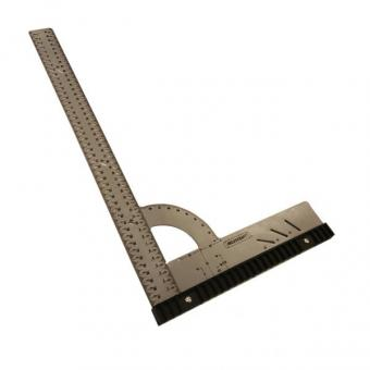 Alu-Winkel 50cm mit Anschlag und Anreißlöcher