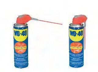 WD40, 500 ml mit Klappsystem