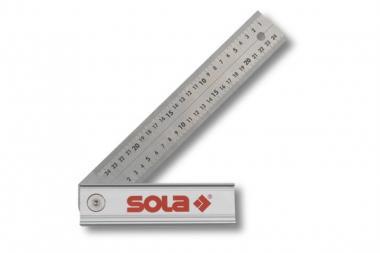 Klappwinkel 250 mm, rastet bei 45, 90, 135 Grad ein.