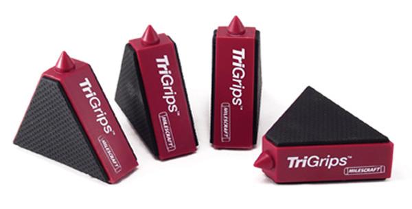 12 Stück Anti-Rutsch-Klötze Tri Grips von Milescraft