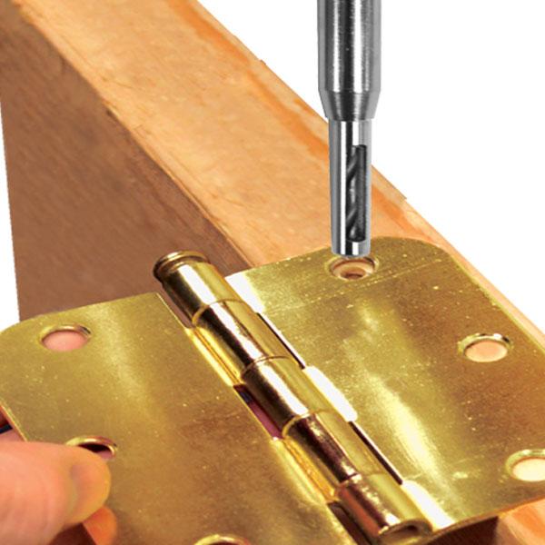 3tlg. Zentrierbohrer für Möbelbeschläge