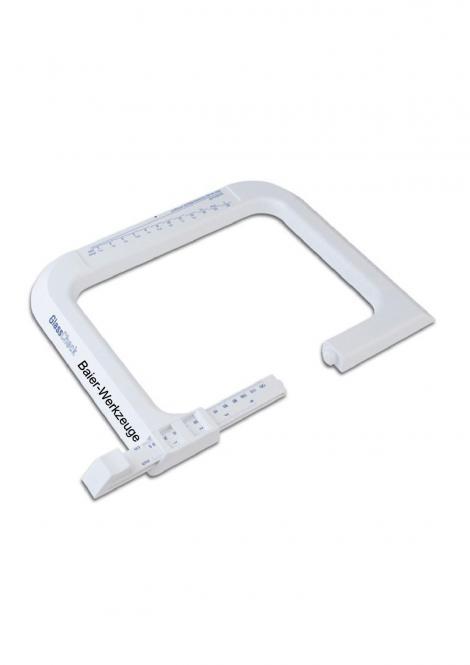 Glas Check Optischer Glasdickenmesser bis 120mm,