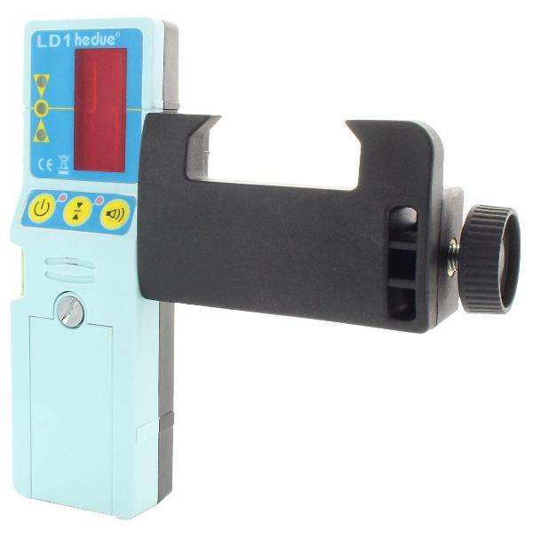 Laser-Empfänger für Linienlaser mit Universalhalterung